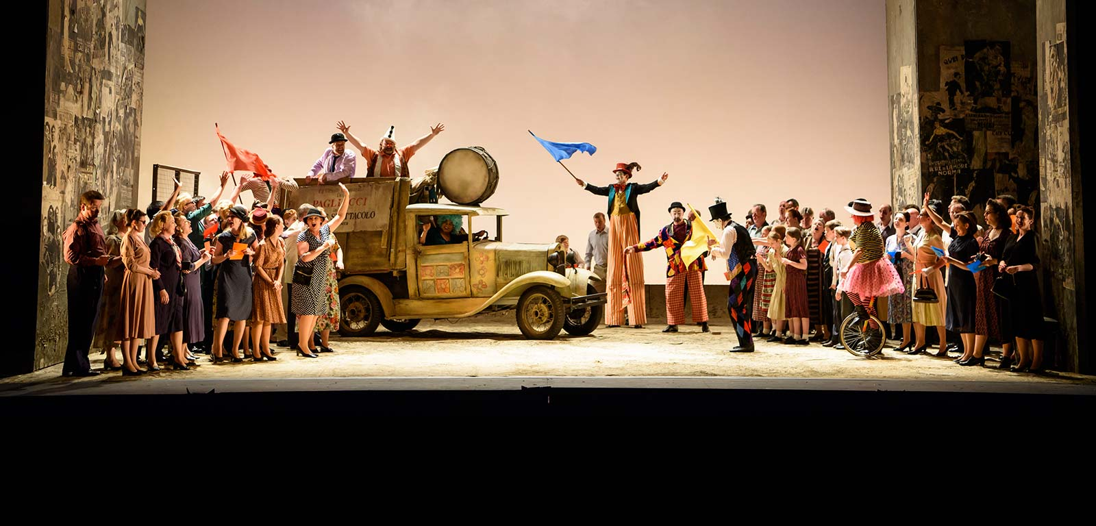 Charity and not-for-profit. Pagliacci, Welsh National Opera. Credit: Bill Cooper
