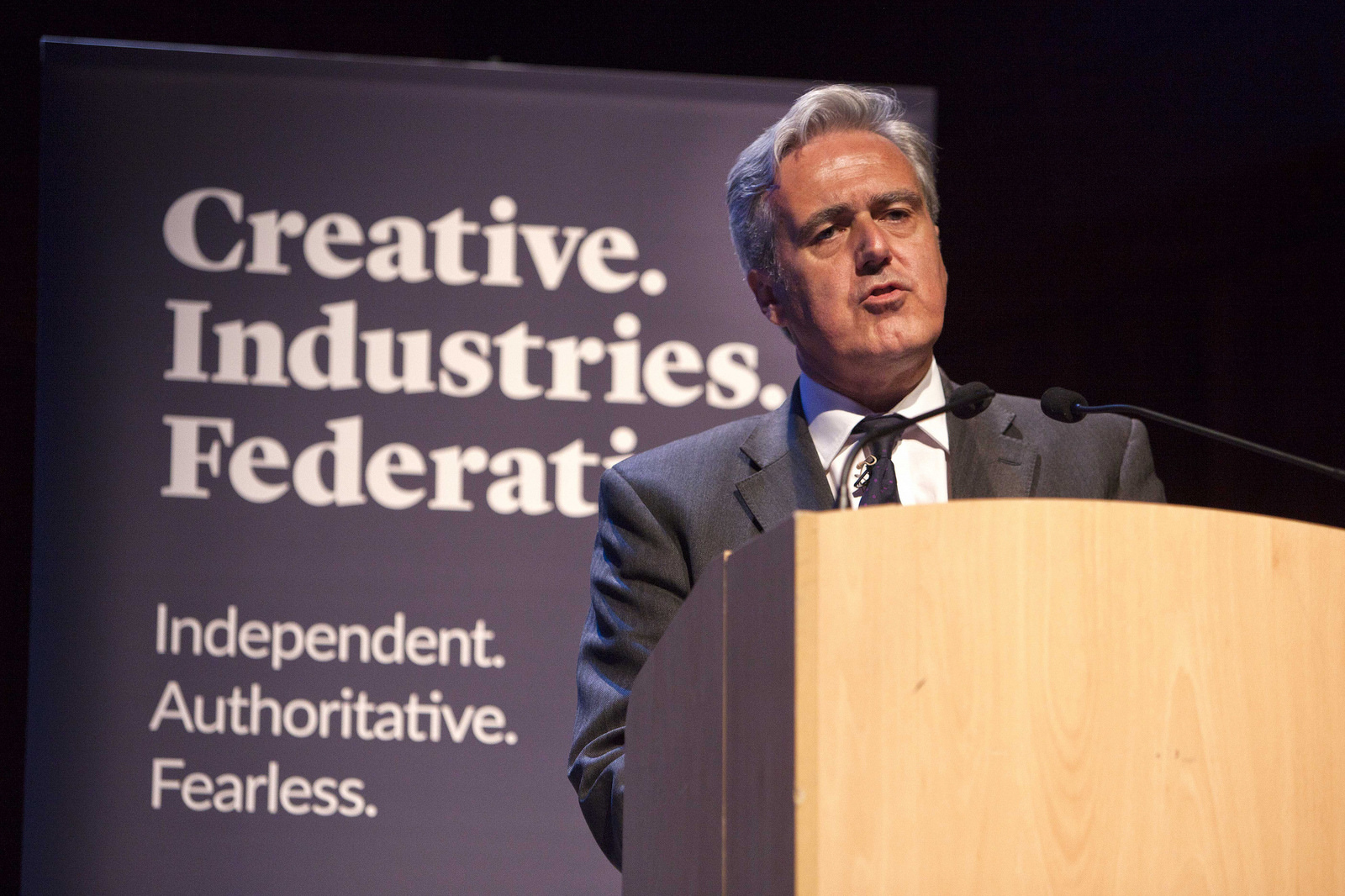 Mark Garnier, International Conference, Creative Industries Federation