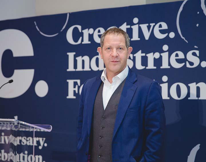 John Kampfner CEO creative industries federation